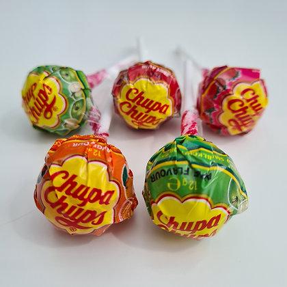 Chupa Chups Fruit Lollipops x4