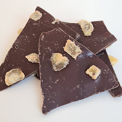 Dark Chocolate Ginger Bark 200g