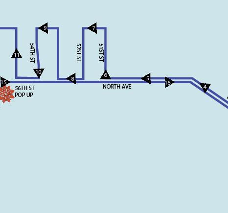 WHEELS -Uptown Crossing Route