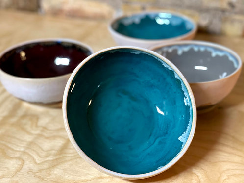 Teal and opal |serve bowl