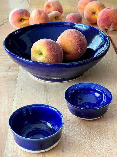 Sapphire | serve bowl