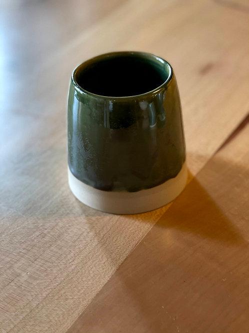 Moss green tumbler