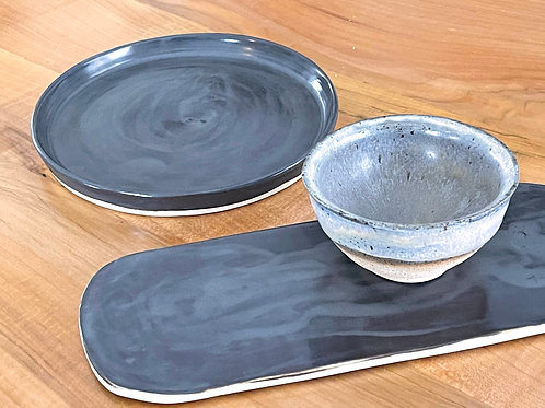 Steel gray | 3 piece set