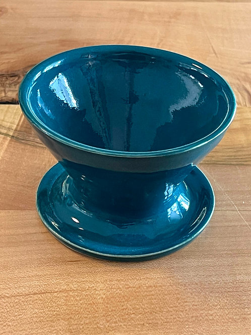 Teal | pour-over funnel