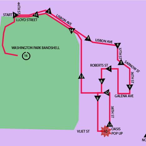 WHEELS- Washington Park Route