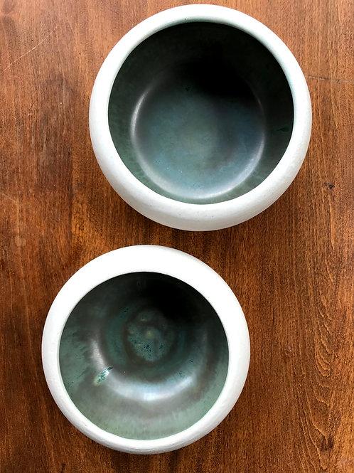 Gunmetal green bowl