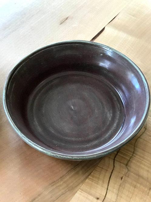 Eggplant serve bowl