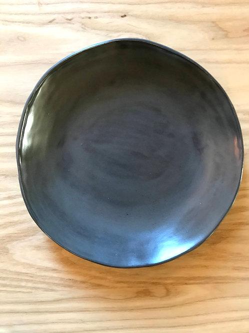 Steel serve plate