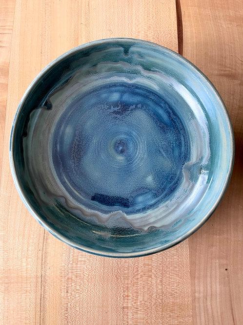 Ice blue   serve bowl