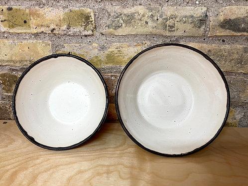 Warm winter white  | serve bowl
