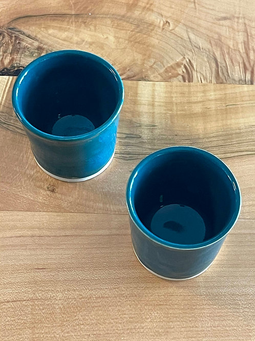 Teal | juice cups