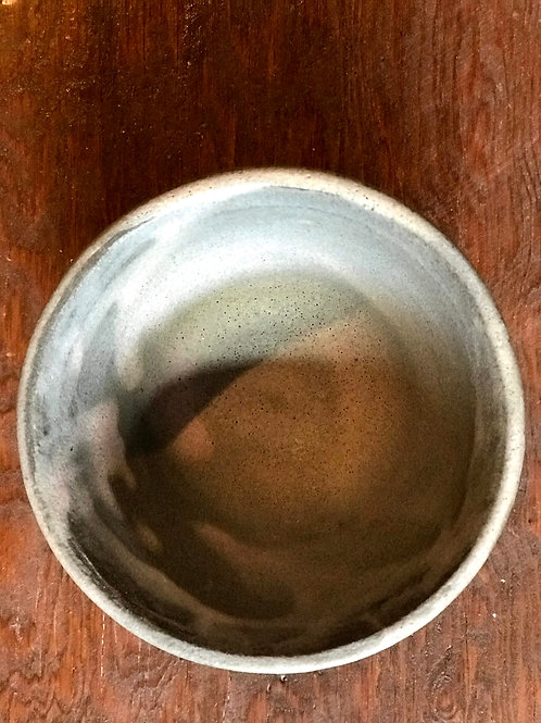 Gray shino bowl