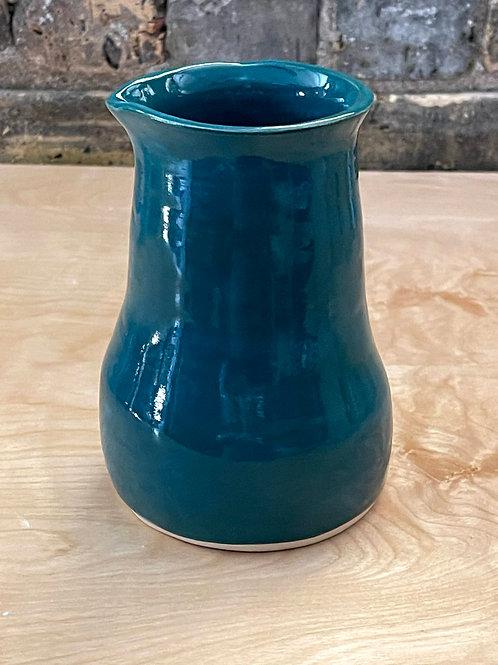Teal pitcher | pour-over pot
