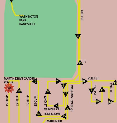 WHEELS - Martin Dr Route
