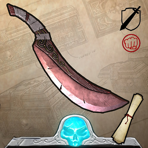 Blood Moon Blade Limited edition 199