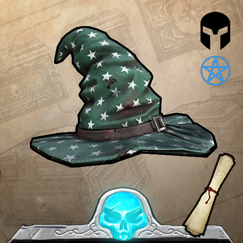 Green Wizard Hat Limited Edition 199