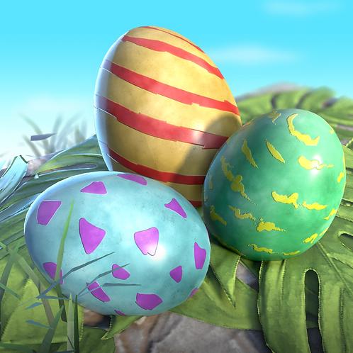 3 Ooogy Eggs