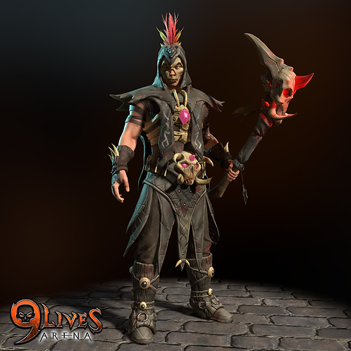 Dark Atlantean Shaman Limited Edition 99