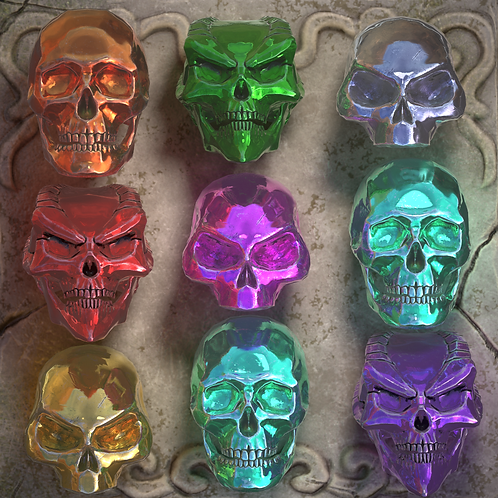 9 Random Skulls limited to 80 packs
