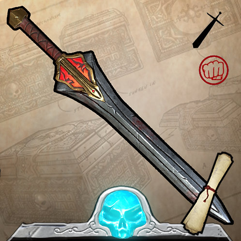 Red Atlantean Warblade Limited Edition 150