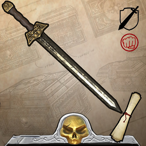 Golden War Blade Limited Edition 399