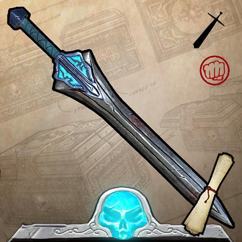 Blue Atlantean War Blade Limited Edition 150