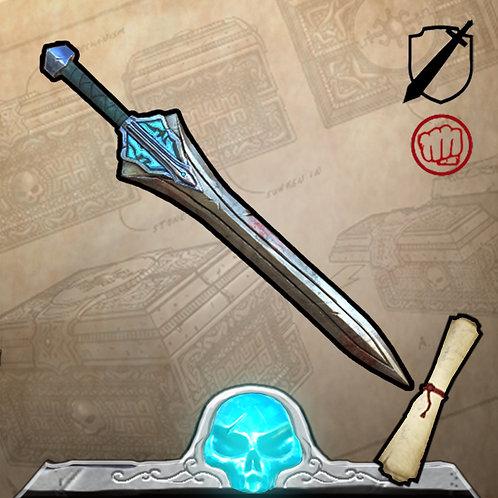 Blue Atlantean War Sword Limited Edition 199
