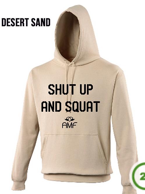 SHUT UP & SQUAT Hoodies - AMF