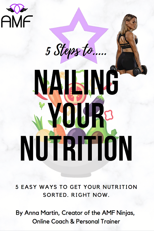 NAIL YOUR NUTRITION