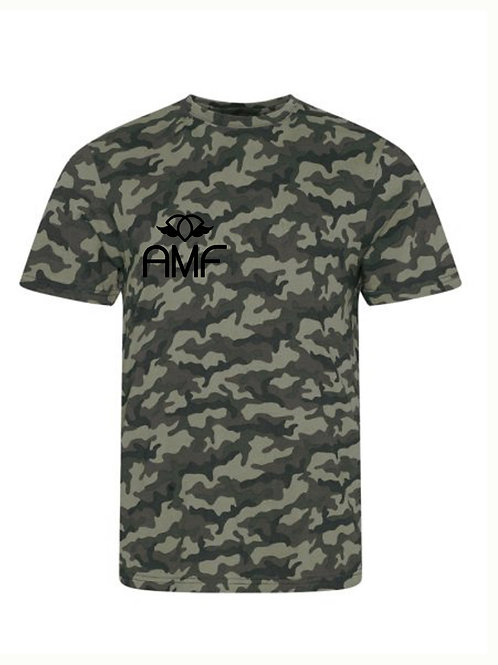 AMF Shut Up & Squat - Camo T-Shirt