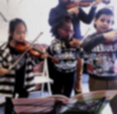 Group Violin Lesson