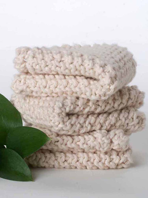 Organic Cotton Scrubbers