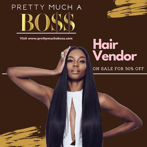Pretty Much A Boss Mink,Raw,Indian Hair Vendor List
