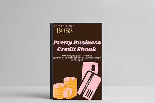 Pretty Business Credit Ebook