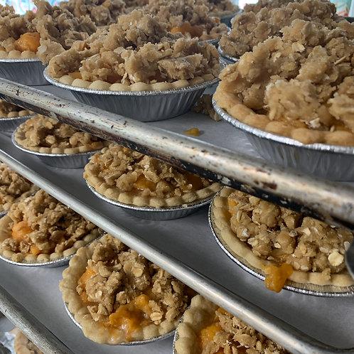 Peach Crumble Pie (Qty 4)
