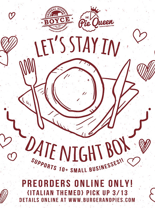 Let's Stay In Date Night Box {3/13}