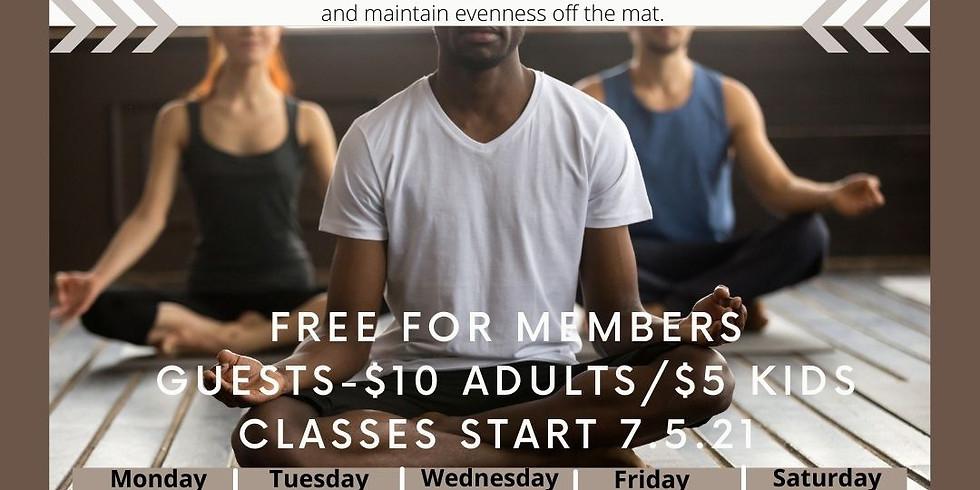 Yoga Class - Family