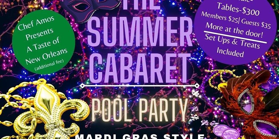 Summer Cabaret - Mardi Gras Pool Party