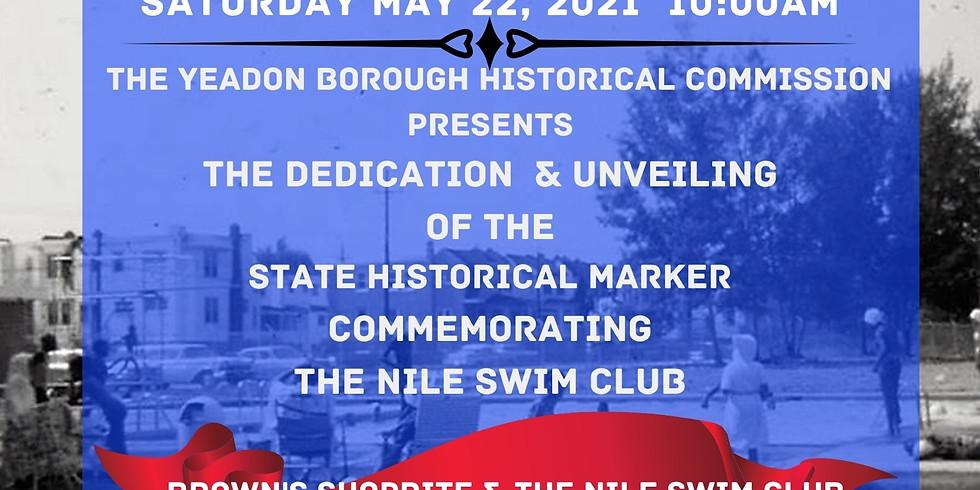Historical Marker Dedication & Basketball Court Ribbon Cutting Ceremony