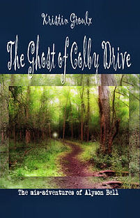 book cover for The Ghost of Colby Drive