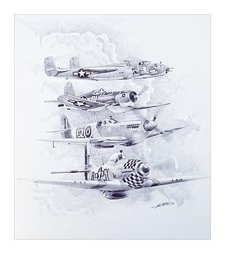 2009 AIR SHOW POSTER ART-B&W.jpg