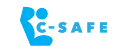 C-Safe blue logo