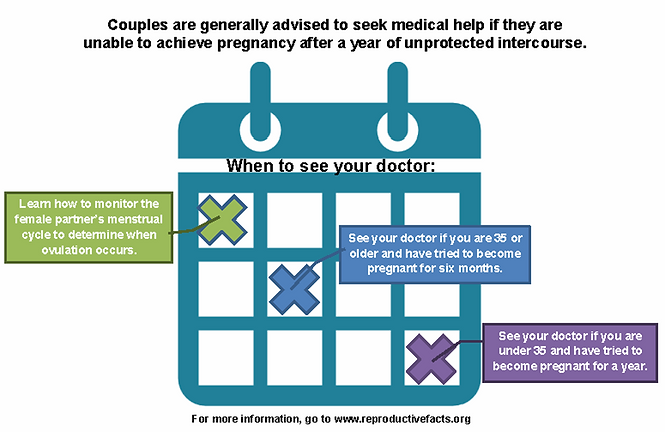 when to see a doctor about infertility