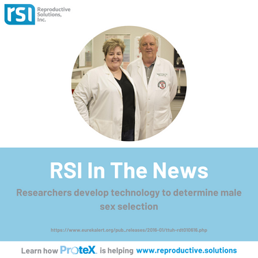 RSI in the News - develop male sex selec