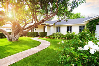 Beautiful white color single family home