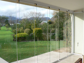 5 New trends for glass doors