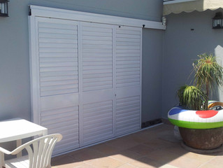 The benefits of Sliding door shutter systems