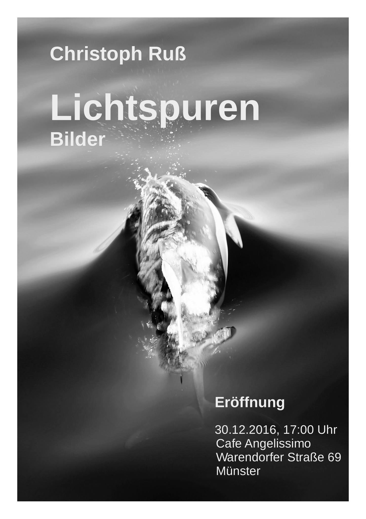 Plakat Lichtspuren