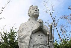 メイン 原城本丸跡に立つ天草四郎像.JPG