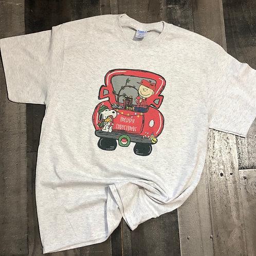 Charlie Brown Truck Sweatshirt